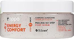 Parfumuri și produse cosmetice Peeling pentru picioare - Silcare Nappa Natural Sugar Foot Scrub