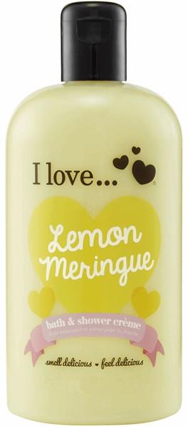 Cremă pentru baie și duș - I Love... Lemon Meringue Bath And Shower Cream — Imagine N1