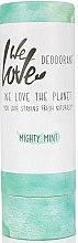 Parfumuri și produse cosmetice Deodorant solid răcoritor - We Love The Planet Mighty Mint Deodorant Stick