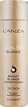 Parfumuri și produse cosmetice Balsam de vindecare pentru păr blond natural și decolorat - L'anza Healing Blonde Bright Blonde Conditioner