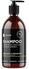 """Parfumuri și produse cosmetice Șampon cu ioni de argint """"Bergamot și Rubarbă"""" - HiSkin Bergamot & Rhubarb Shampoo"""