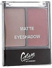 Parfumuri și produse cosmetice Farduri de pleoape - Glam Of Sweden Matte Eyeshadow