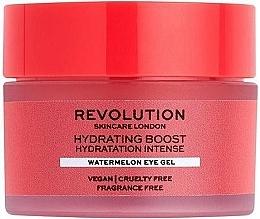 Parfumuri și produse cosmetice Gel hidratant cu pepene verde pentru ochi - Revolution Skincare Hydration Boost Watermelon Eye Gel