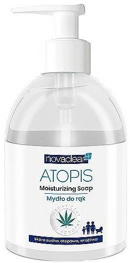 Săpun lichid pentru mâini - Novaclear Atopis Moisturizing Soap — Imagine N1