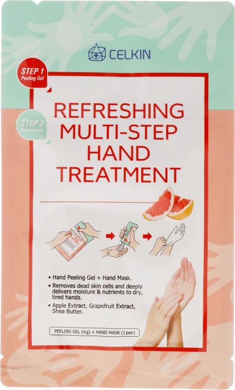 Ulei pentru mâini - Celkin Refreshing Multi Step Hand Treatment — Imagine N1