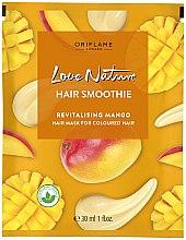 """Parfumuri și produse cosmetice Mască-smoothie regenerantă pentru păr colorat """"Mango"""" - Oriflame Love Nature Hair Smoothie"""