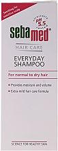 Parfumuri și produse cosmetice Șampon pentru păr normal și uscat - Sebamed Classic Everyday Shampoo