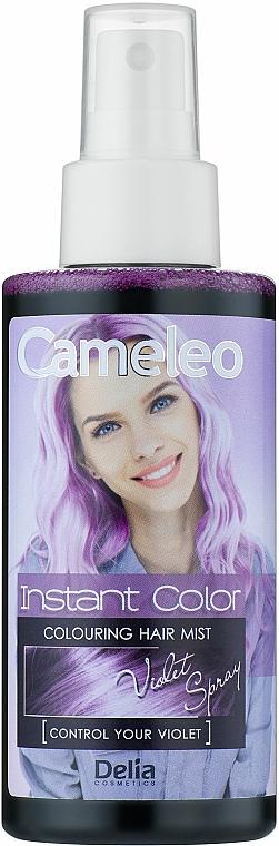 Spray nuanțator pentru păr - Delia Cameleo Instant Color