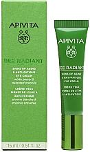 Parfumuri și produse cosmetice Cremă pentru zona din jurul ochilor - Apivita Bee Radiant Signs Of Aging & Anti-Fatigue Eye Cream