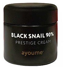 Parfumuri și produse cosmetice Cremă cu mucină de melc negru pentru față - Ayoume Black Snail Prestige Cream