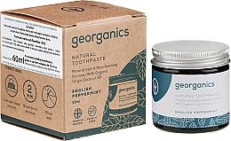 Parfumuri și produse cosmetice Pastă naturală de dinți - Georganics English Peppermint Natural Toothpaste