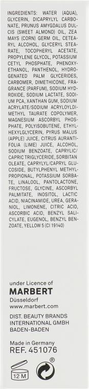 Cremă pentru ten normal - Marbert I love Vitamins Vitamin Care — Imagine N3
