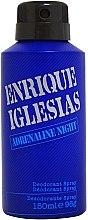 Parfumuri și produse cosmetice Enrique Iglesias Adrenaline Night - Deodorant spray