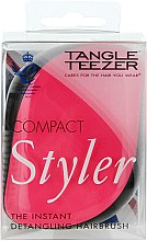 Parfumuri și produse cosmetice Perie de păr compactă - Tangle Teezer Compact Styler Pink Sizzle