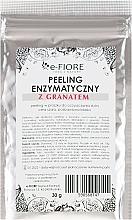 Parfumuri și produse cosmetice Peeling facial cu extract de rodie - E-Fiore Professional Enzyme Peeling Garnet&Vitamin C