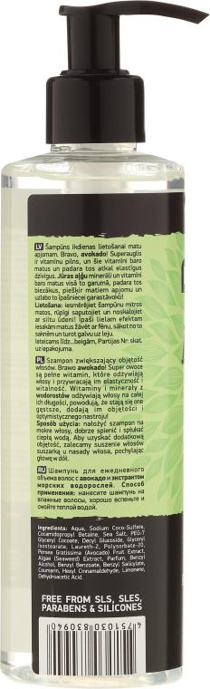 Șampon - Beauty Jar Bravo Cado Natural Shampoo — Imagine N2