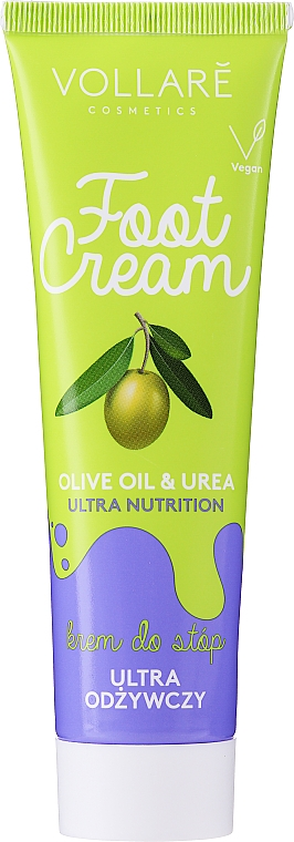 Cremă de picioare - Vollare Cosmetics De Luxe Ultra Nutrition Oile&Urea Foot Cream