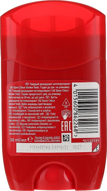 Deodorant solid - Old Spice Odour Blocker Fresh Deodorant Stick — Imagine N2