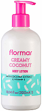 """Parfumuri și produse cosmetice Loțiune de corp """"Cocos"""" - Flormar Coconut Body Lotion"""