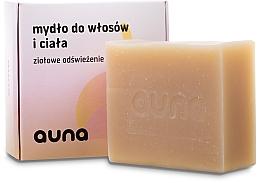Parfumuri și produse cosmetice Săpun pentru corp și față - Auna Hair And Body Soap