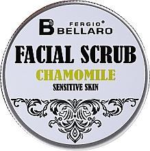 Parfumuri și produse cosmetice Scrub facial cu extract de mușețel - Fergio Bellaro Facial Scrub Chamomile