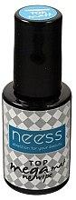 Parfumuri și produse cosmetice Top coat pentru oja semipermanentă - Neess No Wipe Top Mega Mat