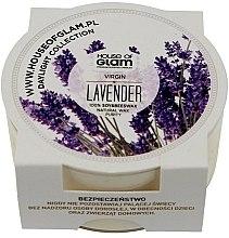 Parfumuri și produse cosmetice Lumânare aromată - House of Glam Virgin Lavender Candle (mini)