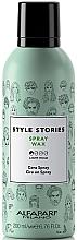 Parfumuri și produse cosmetice Spray-ceară pentru coafarea părului - Alfaparf Milano Style Stories Spray Wax
