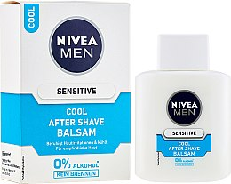 Loțiune de ras - Nivea for Men After Shave Balsam Cool Sensitive — Imagine N1