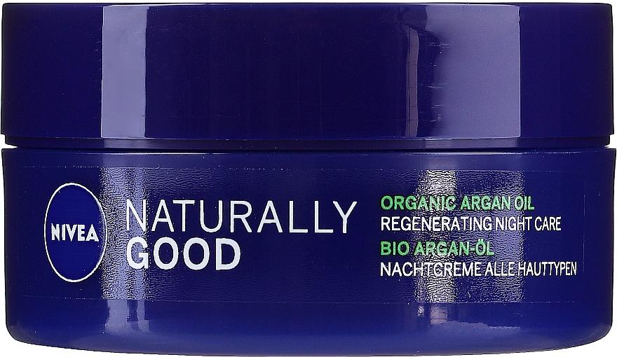Cremă de noapte pentru toate tipurile de ten - Nivea Naturally Good Night Regeneration Care