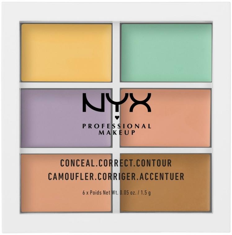 Paleta corector - NYX Professional Makeup Color Correcting Palette