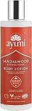 """Parfumuri și produse cosmetice Loțiune de corp """"Lemn de santal și Ylang-Ylang"""" - Ayumi Sandalwood & Ylang Ylang Body Lotion"""
