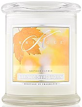 Parfumuri și produse cosmetice Lumânare aromată (borcan) - Kringle Candle Clearwater Creek
