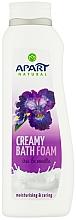"""Parfumuri și produse cosmetice Spumă de baie """"Iris și vanilie"""" - Apart Natural Body Care Bath Foam"""