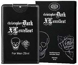 Christopher Dark Men XL Excellent - Apă de toaletă — Imagine N1