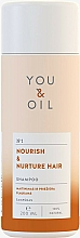 "Parfumuri și produse cosmetice Șampon ""Nutriție și Îngrijire"" - You & Oil Nourish & Nurtere Hair Shampoo"