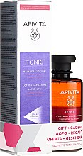 Parfumuri și produse cosmetice Set - Apivita Tonic (hair/lot/150mll + shm/250ml)