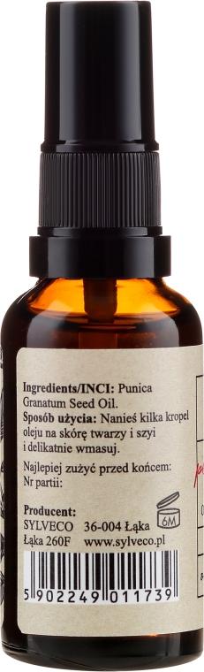 Ulei de semințe de rodie pentru față - Oleiq Pomegranate Seed Face Oil — Imagine N2