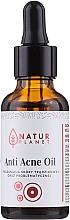 Parfumuri și produse cosmetice Ulei împotriva acneei - Natur Planet Anti Acne Oil