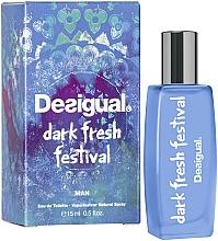 Parfumuri și produse cosmetice Desigual Dark Fresh Festival - Apă de toaletă (mini)