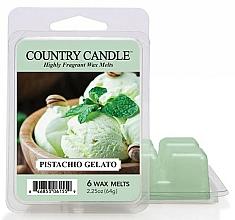Parfumuri și produse cosmetice Ceară pentru lampă aromată - Country Candle Pistachio Gelato Wax Melts