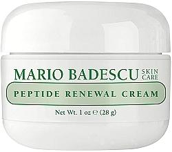 Parfumuri și produse cosmetice Cremă de față - Mario Badescu Peptide Renewal Cream
