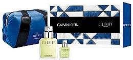 Parfumuri și produse cosmetice Calvin Klein Eternity For Men - Set (etd/100ml + etd/15ml + bag)