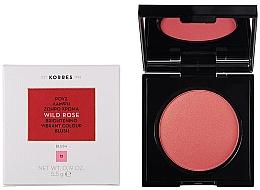 Parfumuri și produse cosmetice Fard de obraz - Korres Wild Rose Brightening Vibrant Colour Blush