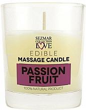 """Parfumuri și produse cosmetice Lumânare naturală pentru masaj """"Fructul pasiunii"""" - Sezmar Collection Passion Fruit"""