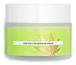 Parfumuri și produse cosmetice Cremă hidratantă pentru față - Revolution Skincare CBD Nourish Boost Cream