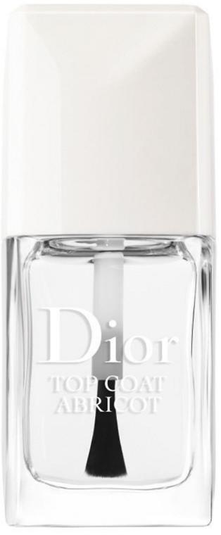 Fixator pentru unghii - Dior Top Coat Abricot