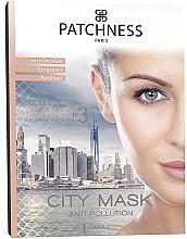 Parfumuri și produse cosmetice Mască facială îmbogățită cu oxigen - Patchness City Mask