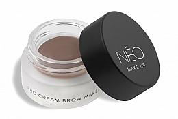 Parfumuri și produse cosmetice Pomadă pentru sprâncene - NEO Make Up Pro Cream Brow Maker