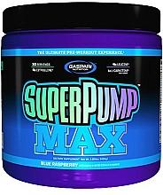 "Parfumuri și produse cosmetice Supliment multivitaminic ""Zmeura albastra"" - Gaspari Nutrition SuperPump Max Blue Paspberry"
